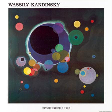 Diversi cerchi II Kunstdruck Kandinsky Wassily
