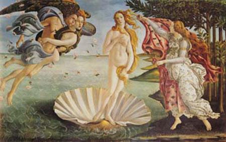 La nascita di Venere Born Oliver