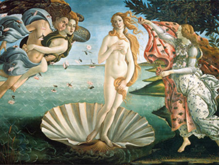 Nascita di Venere Kunstdruck Botticelli Sandro