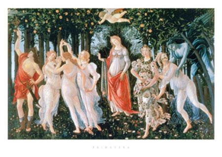 Primavera Kunstdruck Botticelli Sandro