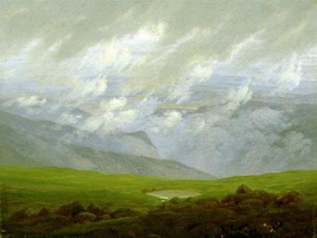 Ziehende Wolken Friedrich Caspar David