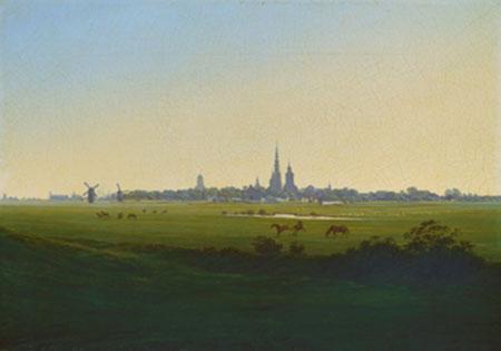 Wiesen bei Greifswald Friedrich Caspar David