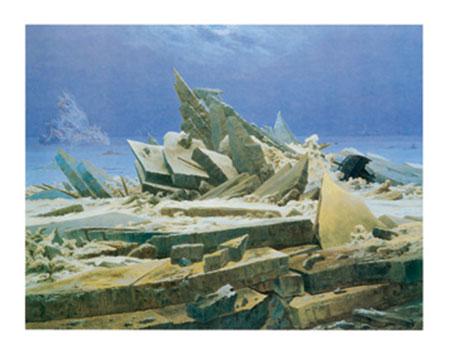 Das Eismeer Kunstdruck Friedrich Caspar David