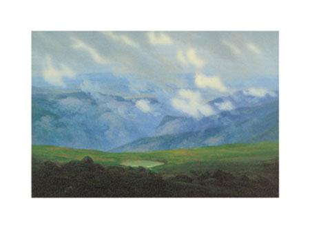 Ziehende Wolken Kunstdruck Friedrich Caspar David