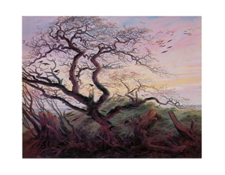 Tree with Crows Kunstdruck Friedrich Caspar David