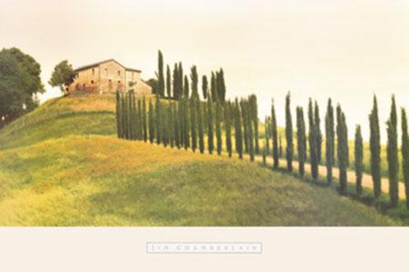 Tuscan Hills Kunstdruck Chamberlain Jim