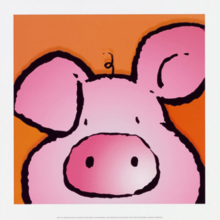 Pig Kunstdruck Courtsey Jean Paul