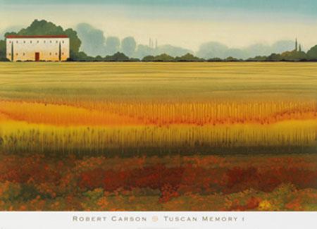 Tuscan Memory I Kunstdruck Carson Robert