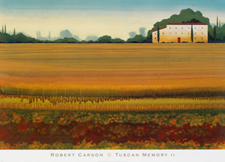 Tuscan Memory II Kunstdruck Carson Robert