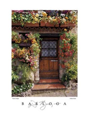 Flower Cottage Kunstdruck Borloga Dennis