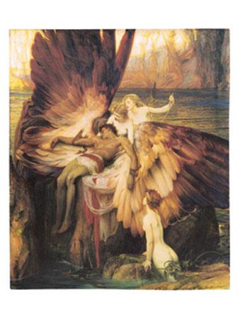 The Lament for Icarus Kunstdruck Draper Herbert