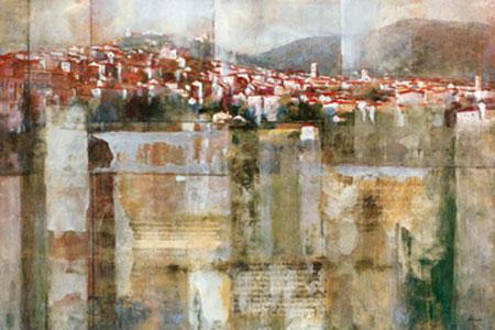 Tuscan Hillside Kunstdruck Douglas