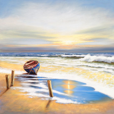 Boat on the shore Erwin Eric