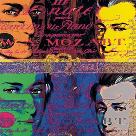 Mozart 1 Kunstdruck Edlinger Günter