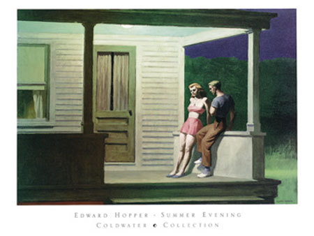 Summer Evening Kunstdruck Hopper Edward