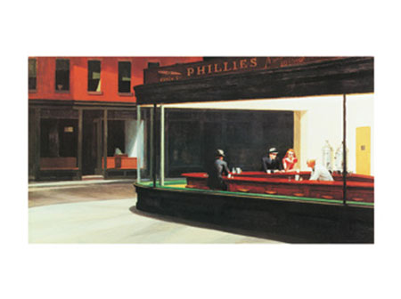 Nighthawks Kunstdruck Hopper Edward