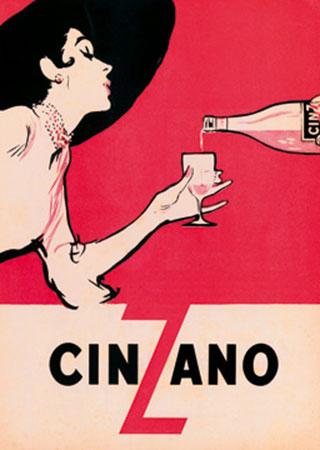 Cinzano Kunstdruck Ernest