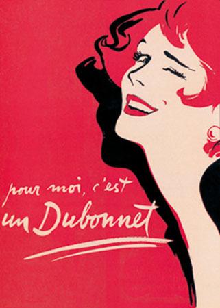 Dubonnet Kunstdruck Ernest