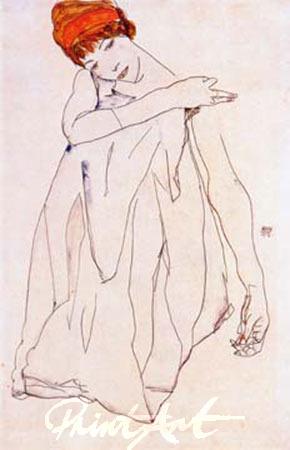 Die Tänzerin Schiele Egon