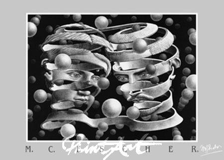 Band ohne Ende Kunstdruck Escher M.C.