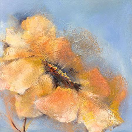 Bright Anemone II Kunstdruck Filatov Elena