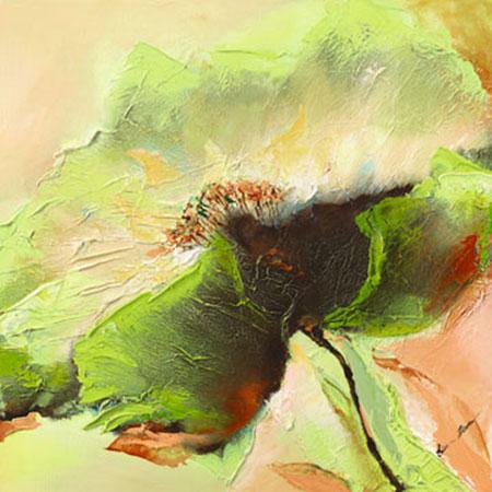 Mint Spring I Hybriddruck mit Perleffekt Filatov Elena