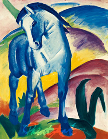 Blaues Pferd I Marc Franz