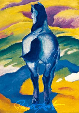 Blaues Pferd II Marc Franz