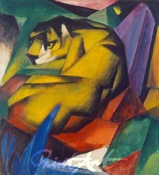 Der Tiger Marc Franz