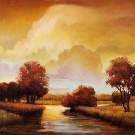 Majestic Morning I Kunstdruck Franklin Ryan