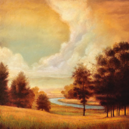 Majestic Morning II Kunstdruck Franklin Ryan
