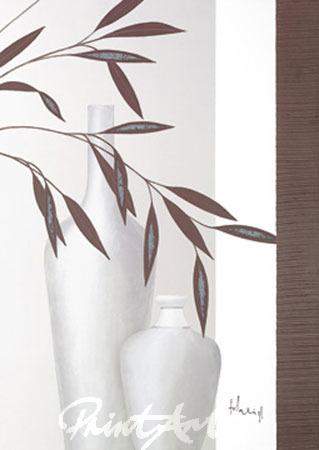 Whispering Bamboo II Kunstdruck mit Folienprägung Heigl Franz