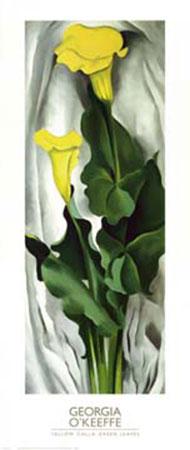 Yellow Calla Kunstdruck O Keeffe Georgia