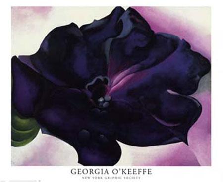 Petunia Kunstdruck O Keeffe Georgia