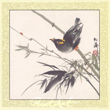 Ji Bu Ke Shi Kunstdruck Gao Songtao