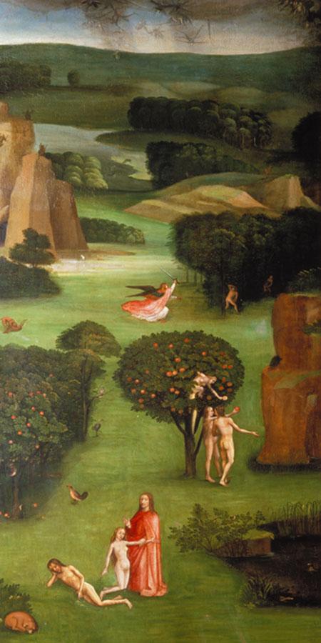Weltgerichts-Triptychon Bosch Hieronymus