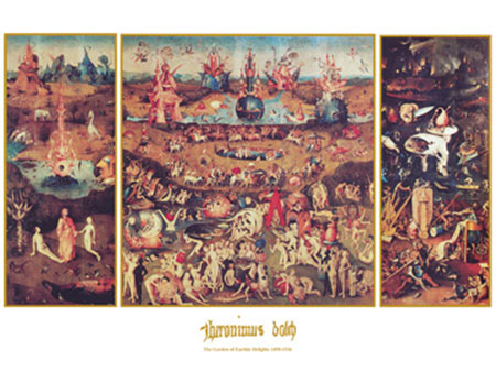 Garden of earthly Delight Kunstdruck Bosch Hieronymus