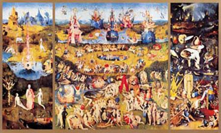 Der Garten der Lüste Bosch Hieronymus