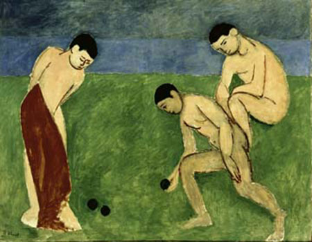 Jeu de Boules Kunstdruck Matisse Henry