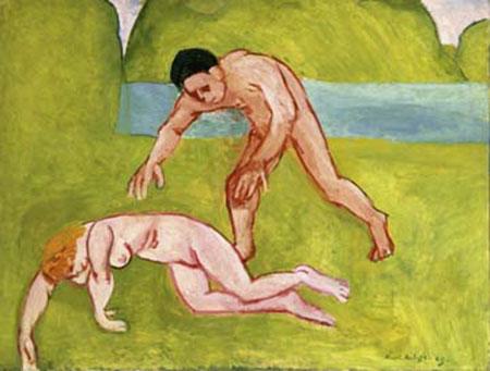 Nymphe et Satyre Kunstdruck Matisse Henry