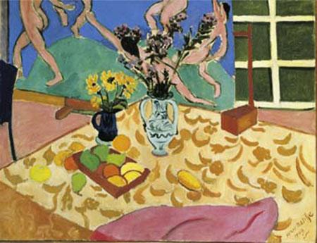 Fruits, fleurs, panneau Kunstdruck Matisse Henry