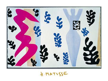 Le lanceur de coteaux Kunstdruck mit Folienprägung Matisse Henry