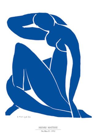 Nu bleu II Kunstdruck Matisse Henry
