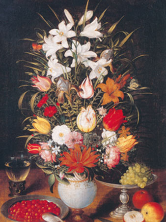 Vase mit Blumen Breughel d.Ä. Jan