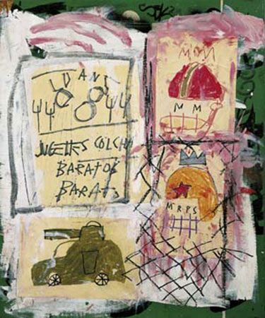 Untitled, 1981 Kunstdruck Basquiat Jean-Michel
