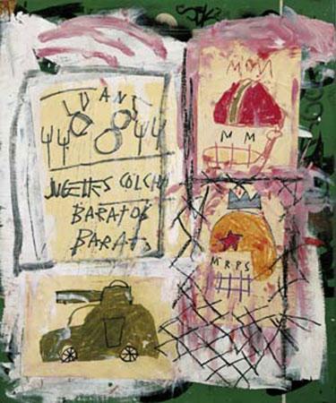 Untitled, 1981 Kunstdruck Basquiat Jean-Michel