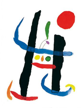A toute epreuve Kunstdruck Miro Joan