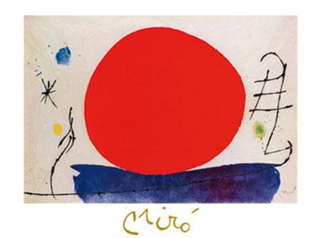 Senzo titolo, 1967 Kunstdruck mit Folienprägung Miro Joan