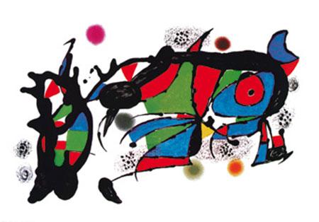 Obra de Joan Miro Kunstdruck Miro Joan