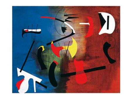 Peinture Kunstdruck Miro Joan